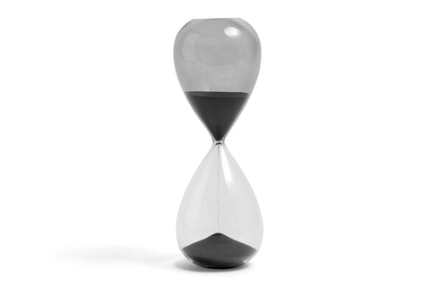 Time - 30 minute egg timer - Large - black by HAY