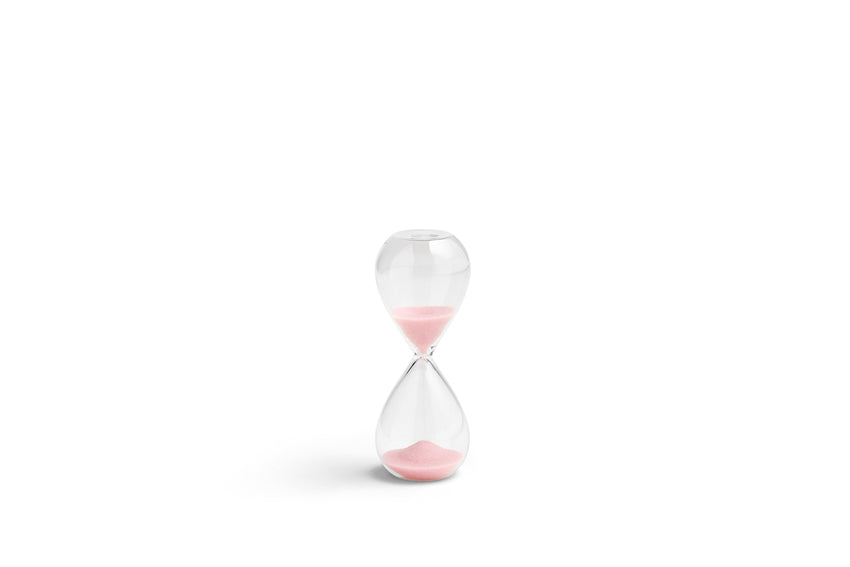Time | 3 minute egg timer | Small | Light Pink