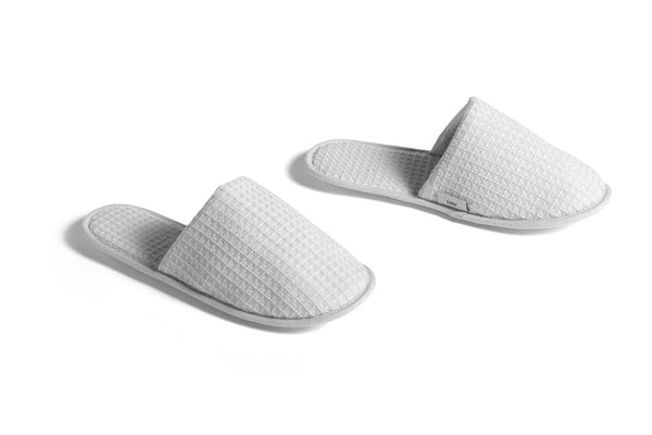 Waffle Slippers in Light Grey - one size - by HAY