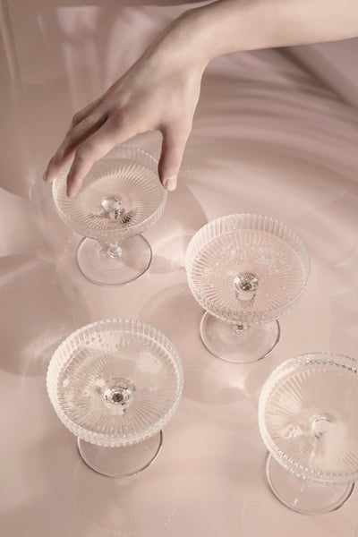 Champagne saucer / glass by ferm Living