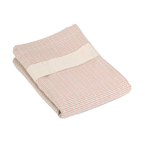 Hand and Hair Towel in Stone Rose by The Organic Company