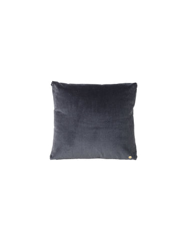 Corduroy cushion Dark grey by ferm LIVING