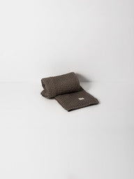 Organic Hand Towel in Grey Waffle by ferm LIVING