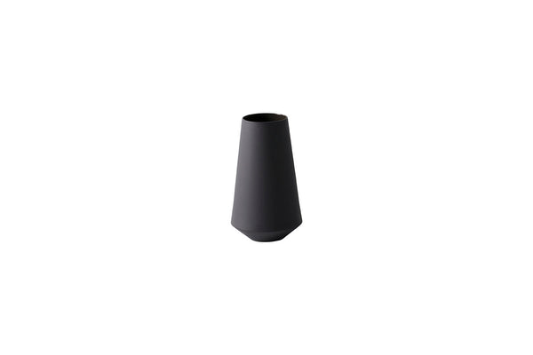 Sculpt Vase Well - Dark Grey by ferm Living