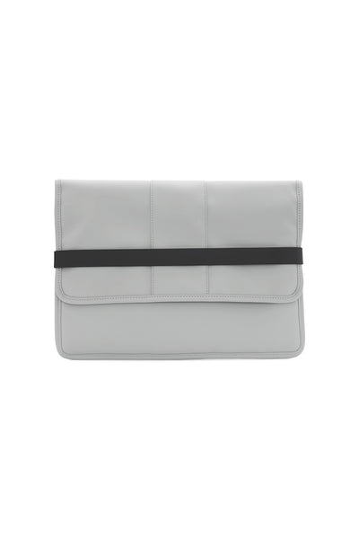 Stone Grey Laptop portfolio case - by Rains