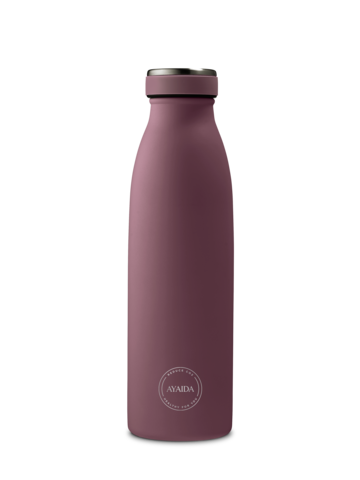 Reusable bottle hot or cold in Wild Blackberry - 500ml - by Ayaida