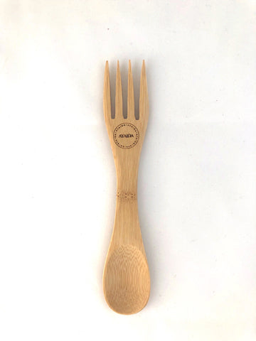 Wooden Spork - Reusable - by Ayaida