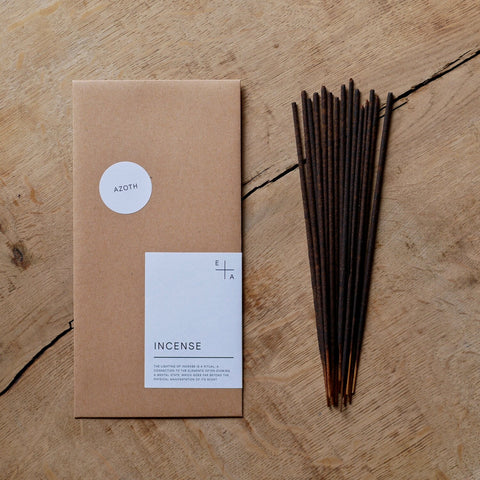 Incense sticks | Azoth | Lavender and Marjoram | by Essence + Alchemy