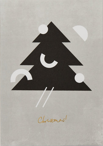 Christmas Tree Card by Kinshipped