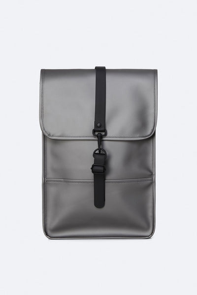 Mini Backpack - Metallic Charcoal - Limited Edition - by Rains