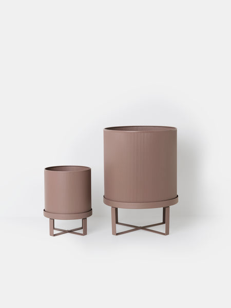 Bau Pot in Dusty Rose Small by ferm Living