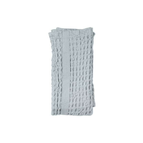 Big Waffle Hand Towel in Sky Blue by The Organic Company