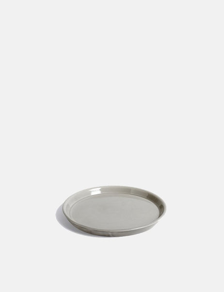 Medium Botanical Family Saucer in Light Grey by HAY