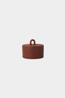 Buckle Jar in cast iron rust by ferm LIVING