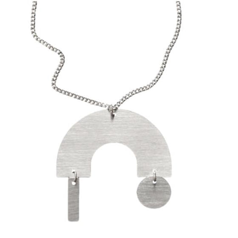 Building Block Arc Pendant Neutral by Days Of August
