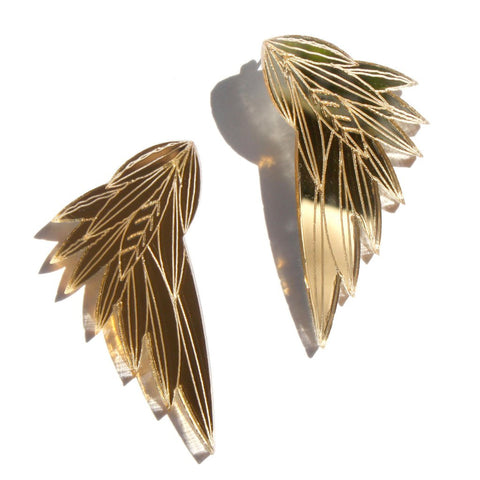 Image of Wing earrings by Chalk