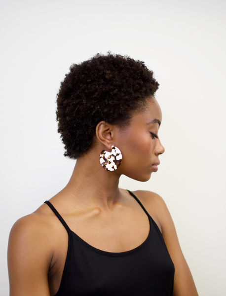 Clare Earrings in Umber by Machete