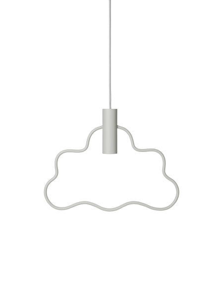 Cloud Pendant - light grey by ferm LIVING
