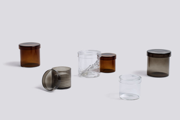 Container - Large - Grey Glass by HAY