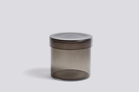 Container - Small - Grey Glass by HAY