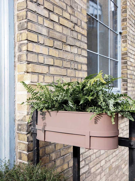 Bau Balcony Box in Dusty Rose Pink by ferm Living