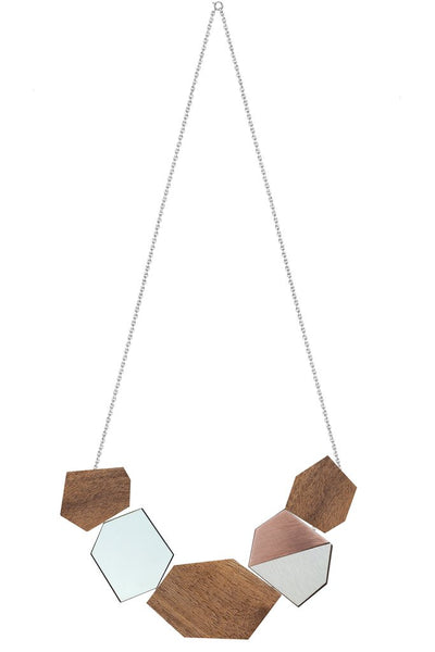 Ella reversible necklace by Form London