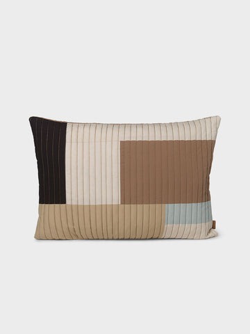 Shay Cushion (60 x 40cm) – Neutral Desert