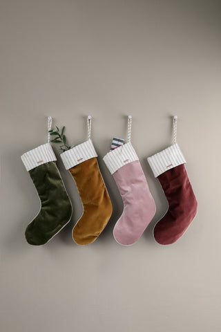 Christmas Stocking in Velvet by ferm Living