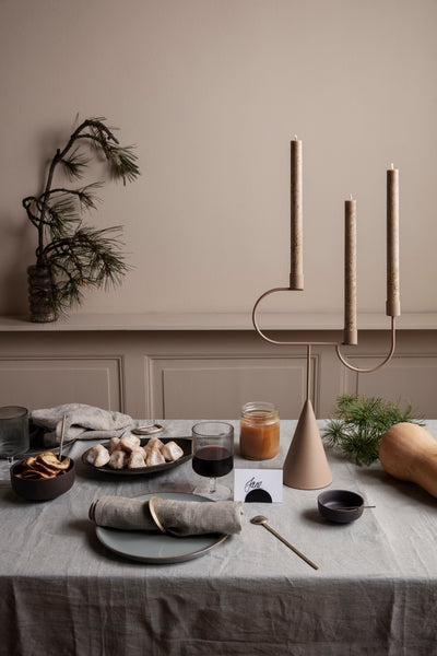 Forest Tray - Small - Brass by ferm Living