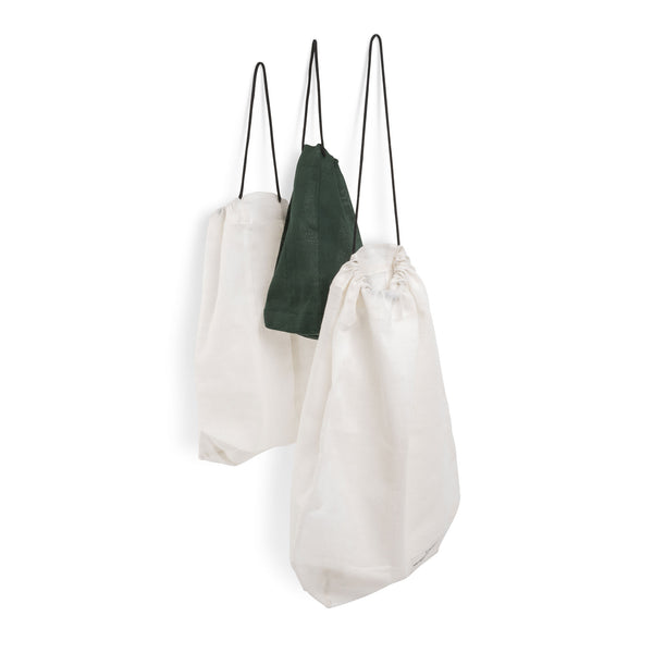 Large Food Bag in Natural White by The Organic Company