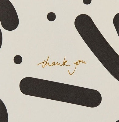 Thank You Card by Kinshipped