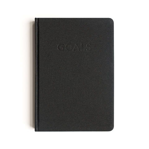 Goals Journal in Black by MiGOALS
