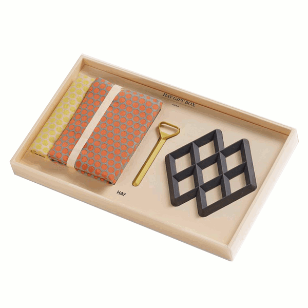 Alternative medium kitchen gift box by HAY