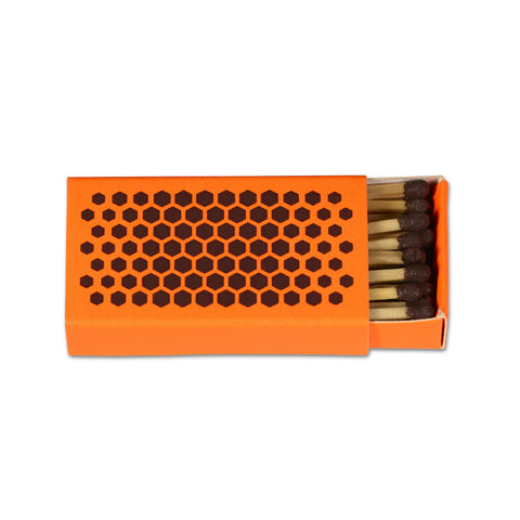 Strike Matchbox (Fluorescent orange) by HAY