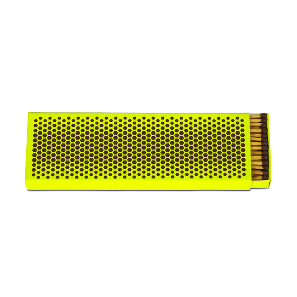 Strike Matchbox (Fluorescent yellow) by HAY