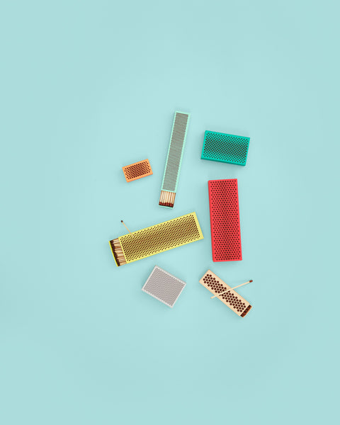 Strike Matchbox (Mint green) by HAY context image