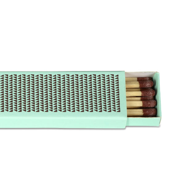 Close up of Strike Matchbox (Mint green) by HAY