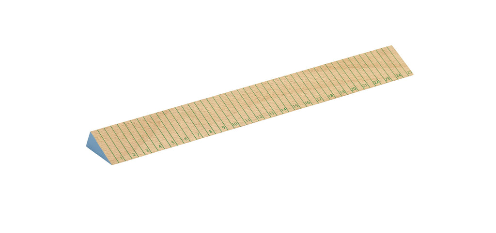 Wooden Ruler (Green/Blue) by HAY