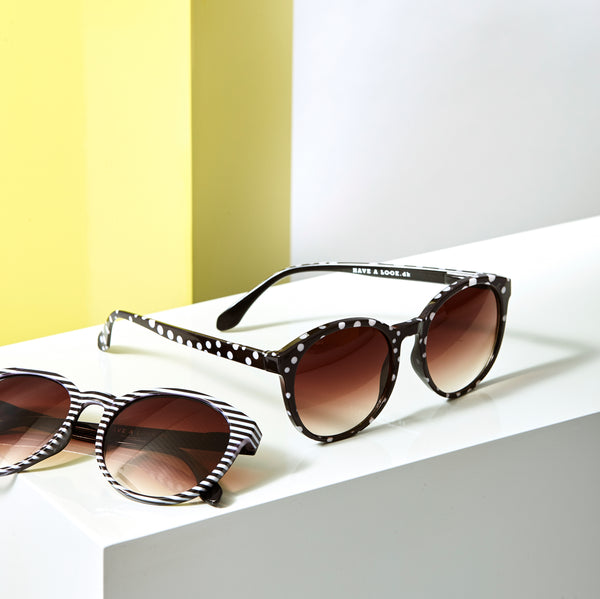 Diva sunglasses in Stripe by Have A Look