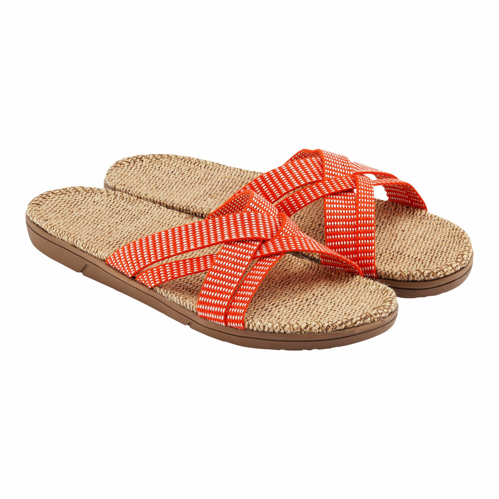 Shangies Danish Sandals in Sunset Orange EU 38-39  / UK 5-6
