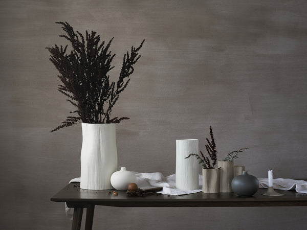 Vase Stam No. 4 in Soft Beige by Daniella Witte for Lindform