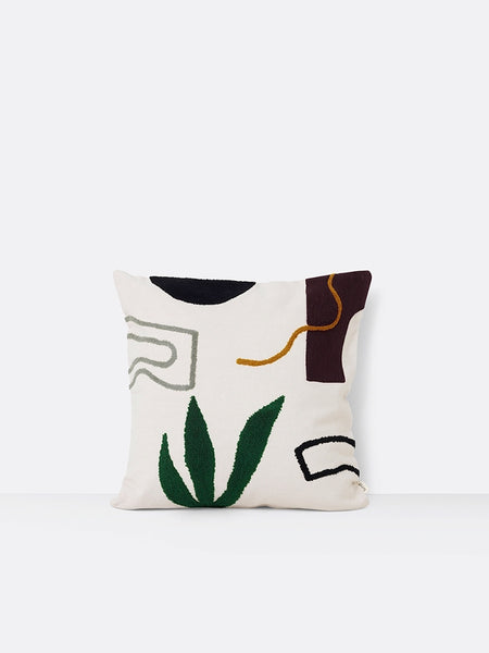 Mirage cushion 'cacti' in multi & cream by ferm LIVING