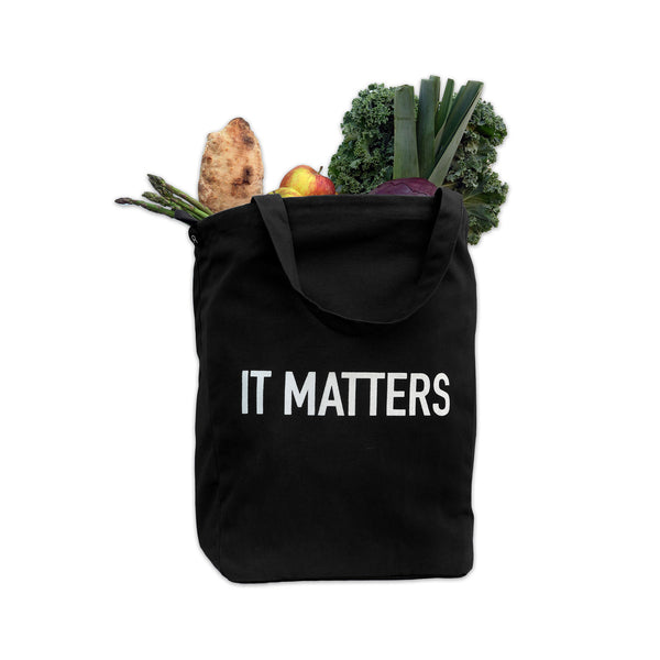 Big Little Bag / Shopper in Black by The Organic Company