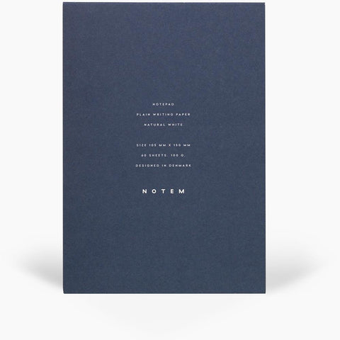 Notepad JO with cover - small - Midnight Blue by Notem Studio
