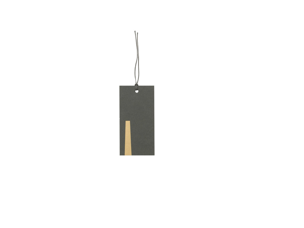 Green & Gold Gift Tags Set of 6 by ferm Living