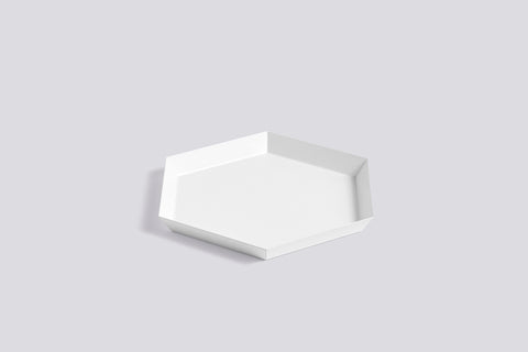 Kaleido Tray White Small by HAY