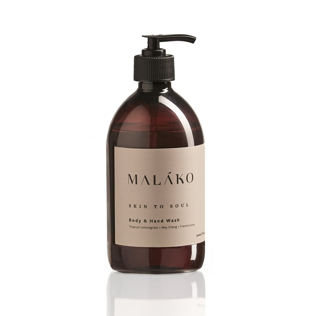 Hand and body wash by MALĀKO