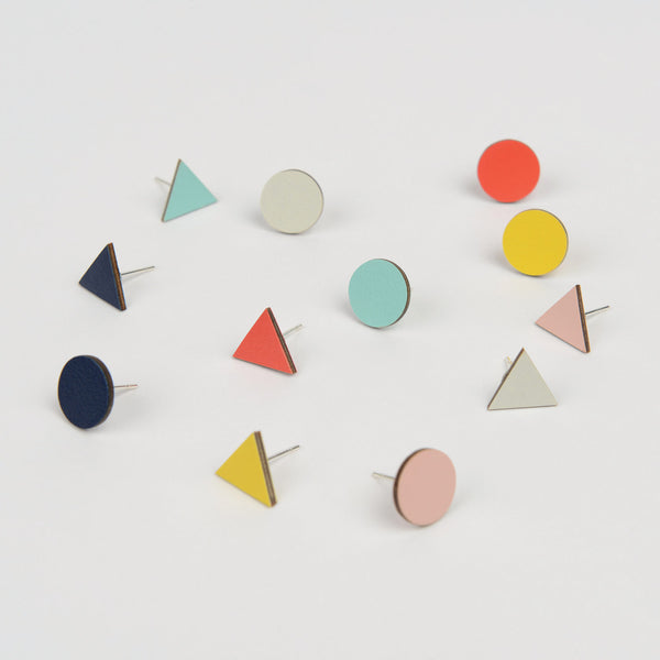 Mix Match Studs - Forest Green - Tom Pigeon