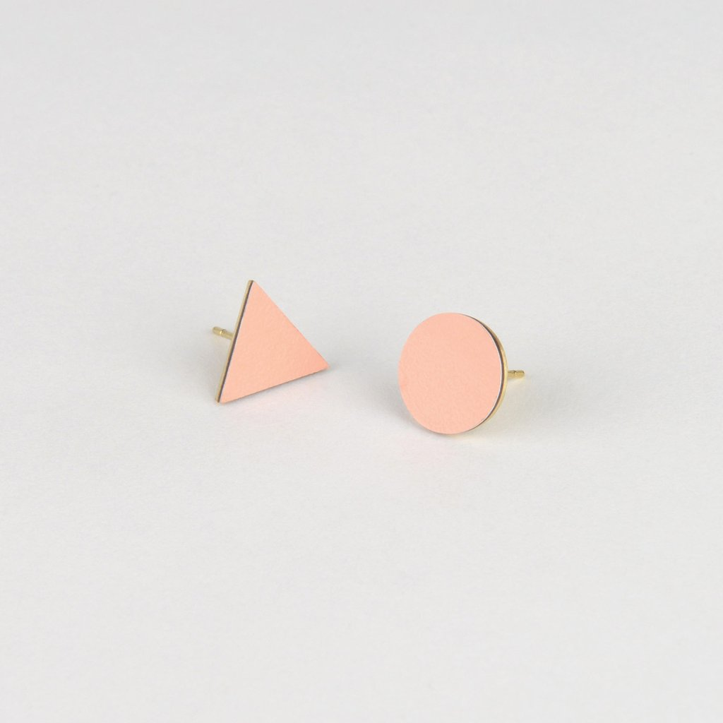 Mix Match Studs - Blush - Tom Pigeon