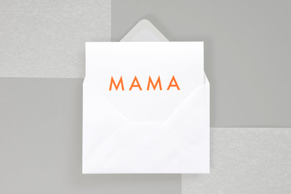 Mama card by Ola